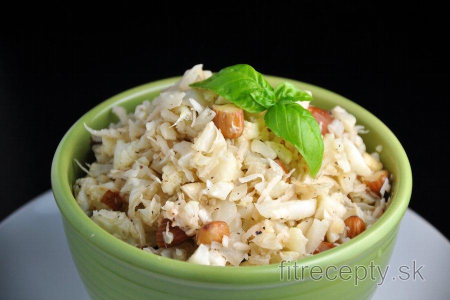 Kokosovo-karfiolové rizoto bez ryže