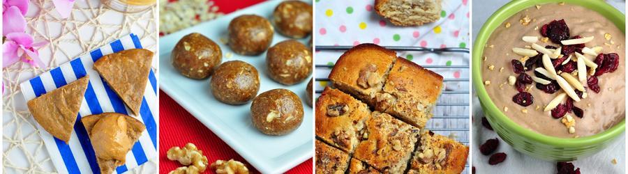 Fitness dezerty s arašidovým maslom