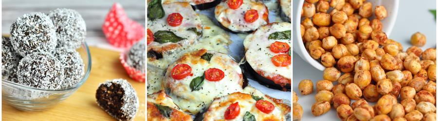 Zdravé snack recepty bez múky a lepku