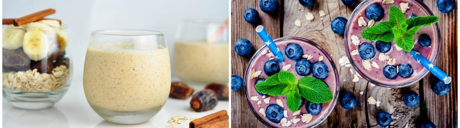 Fitness smoothie recepty a nápoje s vysokým obsahom bielkovín