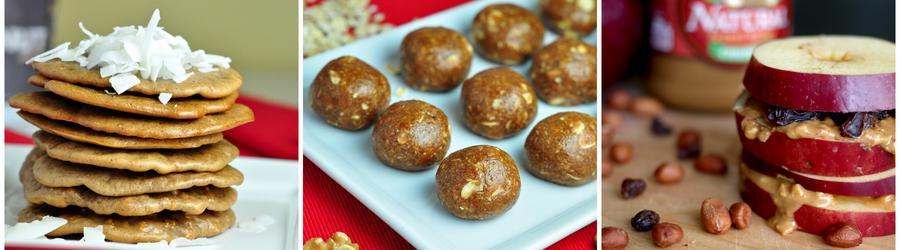 Recepty na snack s arašidovým maslom