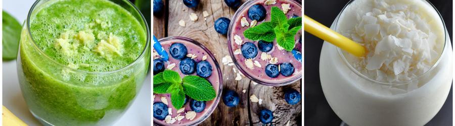 Smoothies a nápoje bez mlieka a laktózy