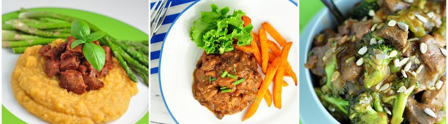Hovädzie mäso - fitness recepty s vysokým obsahom bielkovín
