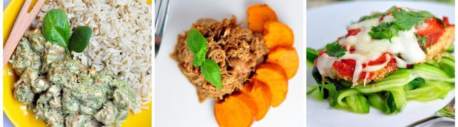 Recepty s kuracím mäsom bez múky a lepku
