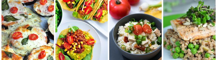 Zdravé recepty na obed a večeru