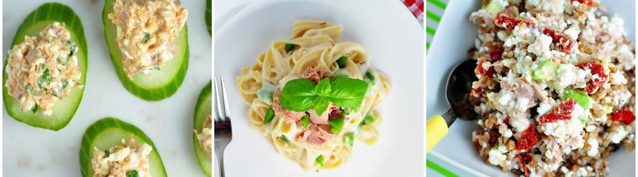 Nízkotučné fit recepty s tuniakom