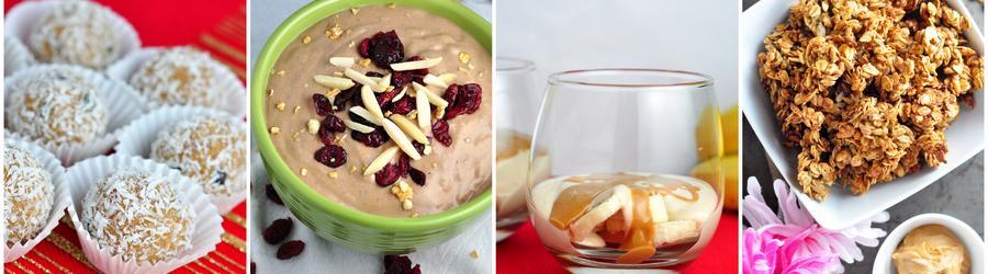 Fitness recepty s arašidovým maslom a proteínom