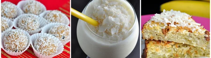 Zdravé recepty s kokosom bez cukru