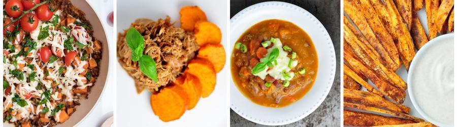 Diétne recepty so sladkými zemiakmi na chudnutie