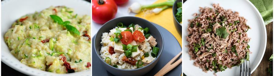 Fitness recepty s ryžou