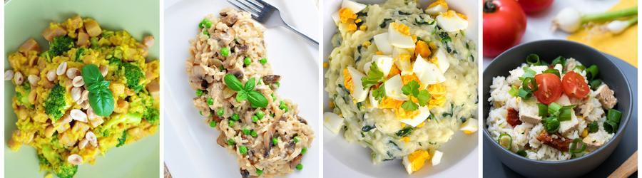 Bezlepkové fit recepty s ryžou