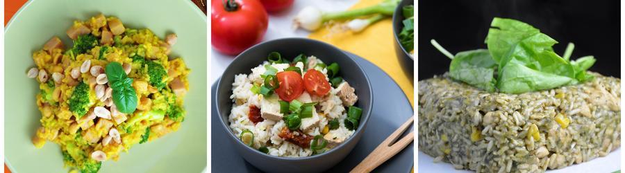 Zdravé vegan recepty s ryžou