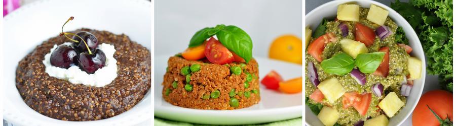 Zdravé bezlepkové recepty s quinoou