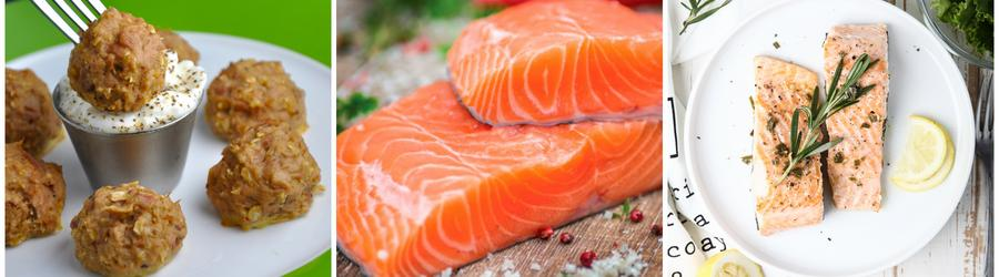 Low carb recepty s lososom