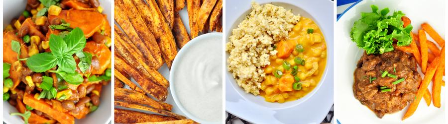 Zdravé recepty so sladkými zemiakmi