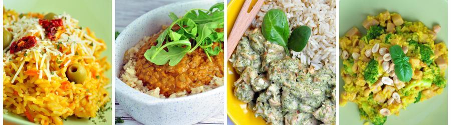 Zdravé recepty s ryžou