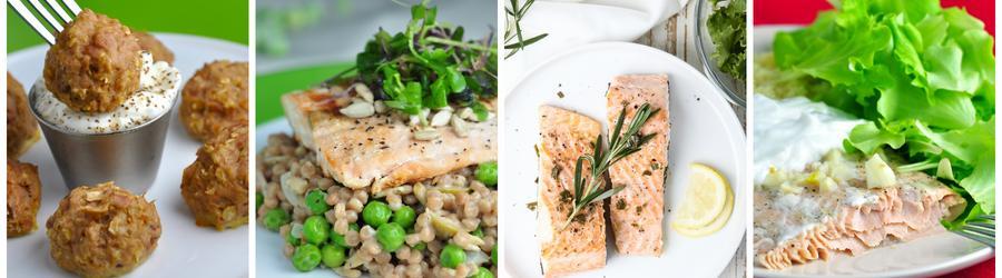 Zdravé recepty s lososom