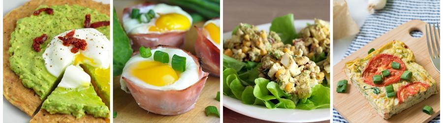 Vajcia - zdravé recepty