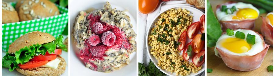 Zdravé raňajky bez mlieka a laktózy