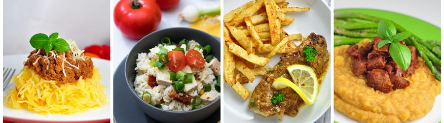 Zdravé recepty na obed a večeru bez múky a lepku