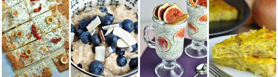 Zdravé raňajky bez múky a lepku