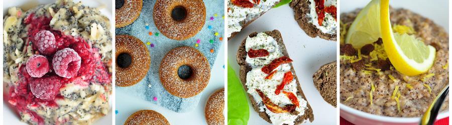 Zdravé vegánske recepty na raňajky