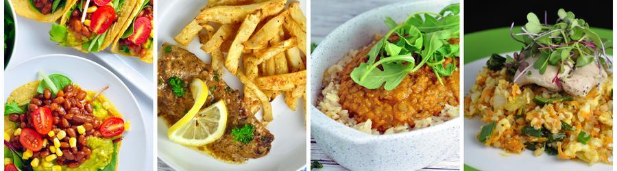 Bezlaktózové recepty na obedy a večere
