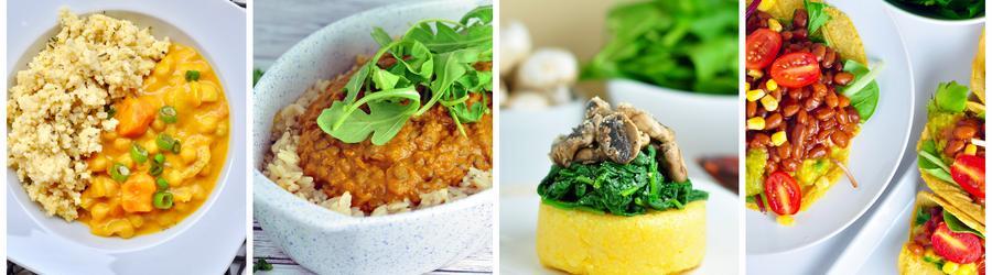 Zdravé vegánske recepty na obed a večeru