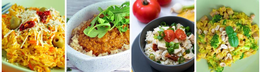 Ryža - zdravé recepty na obed a večeru