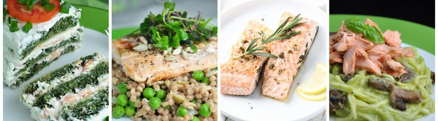 Losos - zdravé recepty na obed a večeru