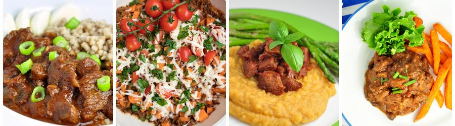 Zdravé recepty na obed a večeru s hovädzím mäsom