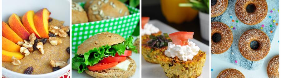 Zdravé recepty na raňajky bez vajec