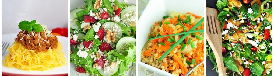 Zeleninové obedy a večere