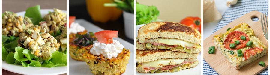 Fitness raňajky s vysokým obsahom bielkovín