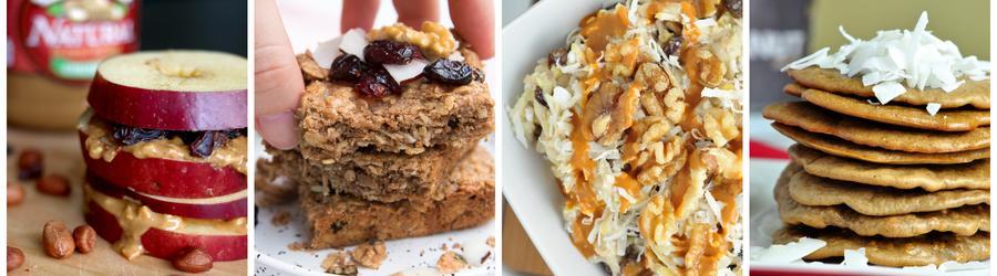 Recepty na raňajky s arašidovým maslom