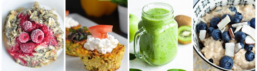 Diétne recepty na raňajky