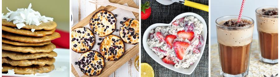 Fitness raňajky s proteínovým práškom