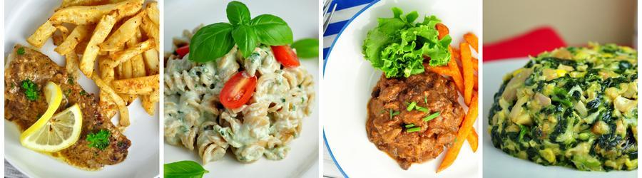 Fitness recepty na obed a večeru