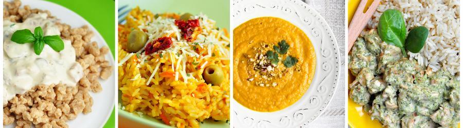 Recepty na nízkotučné obedy a večere