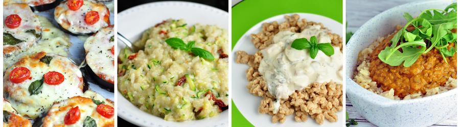 Zdravé bezmäsité recepty na obedy a večere