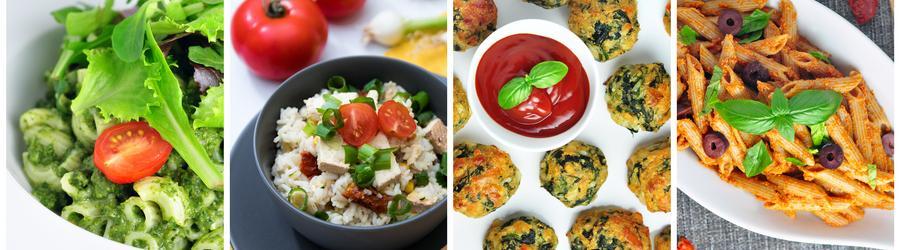 Zdravé bezmäsité recepty - vegetariánske